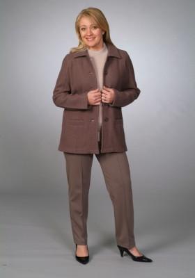 Boiled Wool Jacket, Pure Wool Crew, Ponte Pant